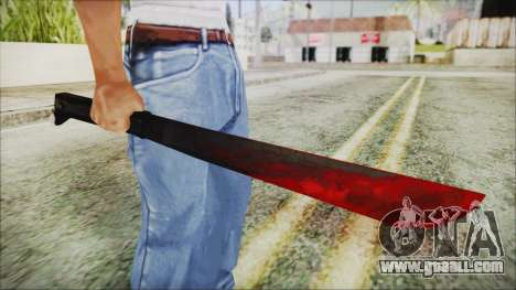 Jason Voorhes Weapon for GTA San Andreas