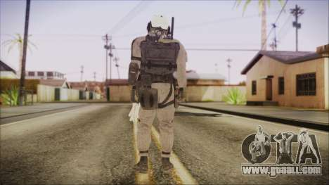 XOF Soldier (Metal Gear Solid V Ground Zeroes) for GTA San Andreas third screenshot