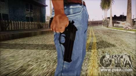 PayDay 2 Bernetti 9 for GTA San Andreas third screenshot