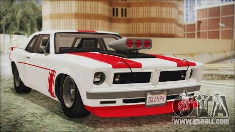 GTA 5 Declasse Tampa for GTA San Andreas