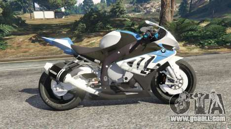 BMW HP4 for GTA 5