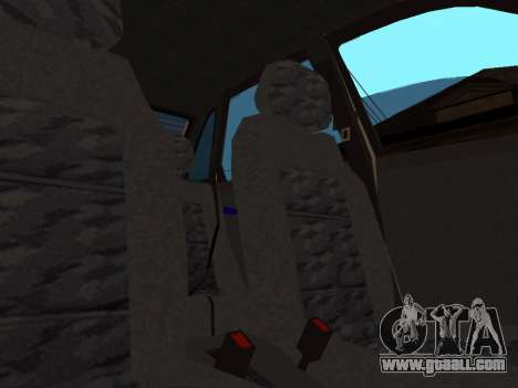 VAZ 2110 DPS for GTA San Andreas interior