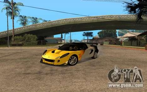 Lotus Elise 111s Tunable for GTA San Andreas