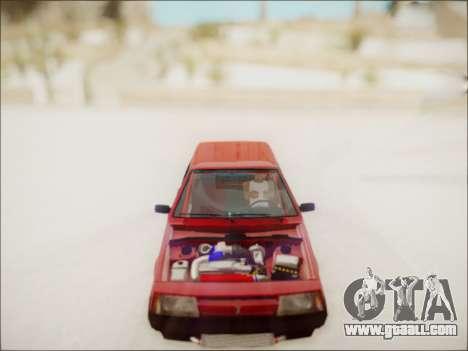 VAZ 2108 Turbo for GTA San Andreas right view