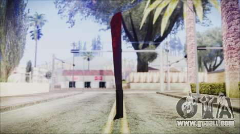 Jason Voorhes Weapon for GTA San Andreas second screenshot