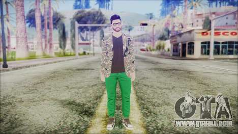 GTA Online Skin 28 for GTA San Andreas second screenshot
