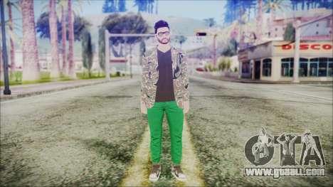 GTA Online Skin 28 for GTA San Andreas second screenshot