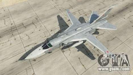 GTA 5 Su-24M fourth screenshot