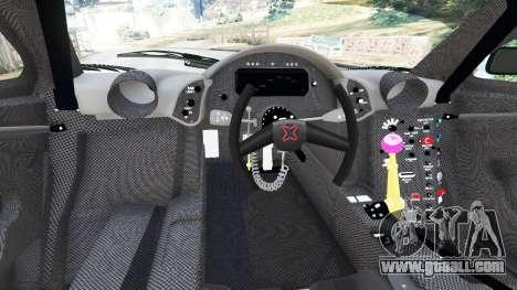 GTA 5 McLaren F1 GTR Longtail [Gulf] rear right side view