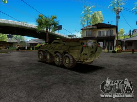 BTR 80 for GTA San Andreas left view