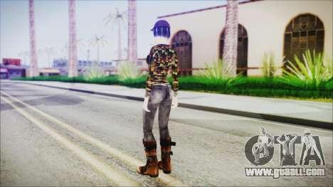 Clementine for GTA San Andreas third screenshot