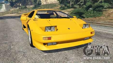 Lamborghini Diablo Viscous Traction 1994 for GTA 5