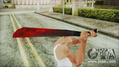 Jason Voorhes Weapon for GTA San Andreas third screenshot
