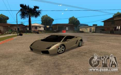 Lamborghini Gallardo Tunable v2 for GTA San Andreas side view