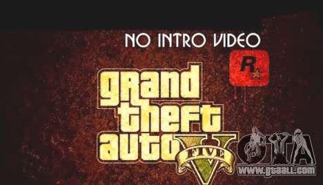 No intro video Script Beta for GTA 5