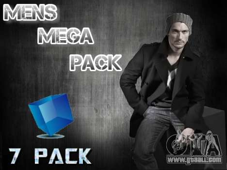 Mens Mega Pack for GTA San Andreas