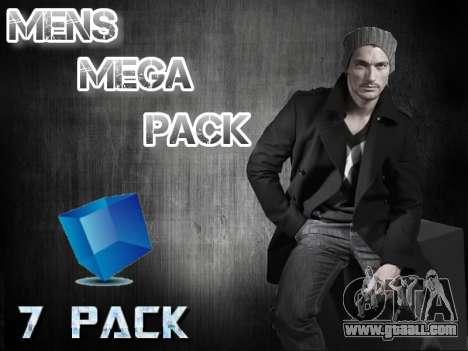 Mens Mega Pack for GTA San Andreas