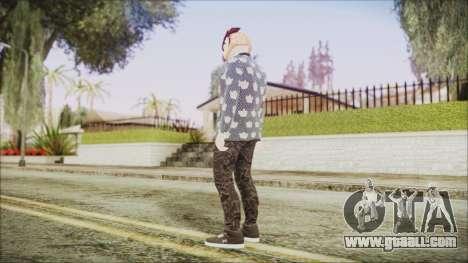 Skin GTA Online Hipster 2 for GTA San Andreas third screenshot