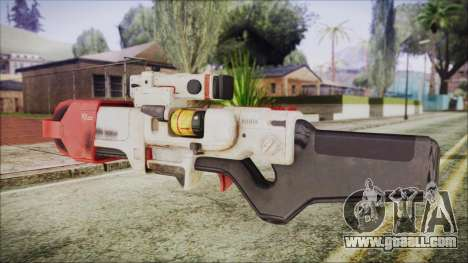 Fallout 4 Focused Institute Rifle for GTA San Andreas second screenshot