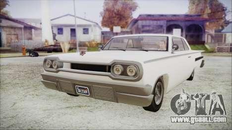 GTA 5 Declasse Clean Voodoo Hydra Version for GTA San Andreas