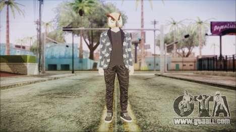 Skin GTA Online Hipster 2 for GTA San Andreas second screenshot