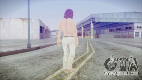 Rambo City Shirtless for GTA San Andreas third screenshot
