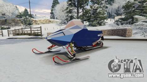 GTA 5 Snowmobile right side view
