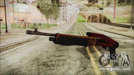 Xmas SPAS-12 for GTA San Andreas