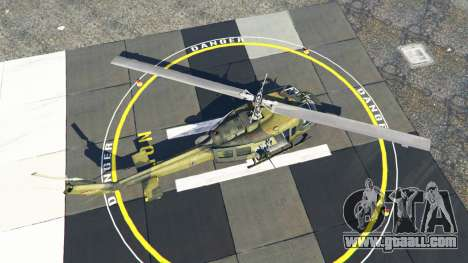 GTA 5 Bell UH-1D Huey Bundeswehr fourth screenshot