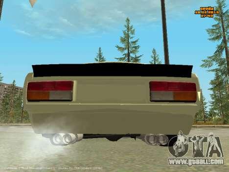 VAZ 2107 Car for GTA San Andreas right view