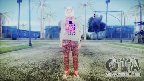 GTA Online Skin 54 for GTA San Andreas second screenshot