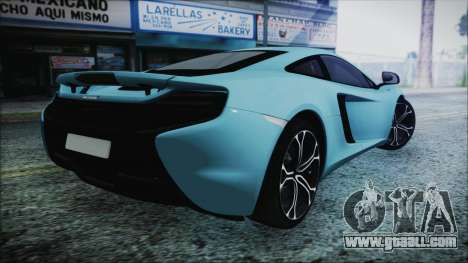McLaren 650S Coupe 2014 for GTA San Andreas left view