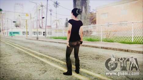 Left 4 Dead Rochelle for GTA San Andreas third screenshot