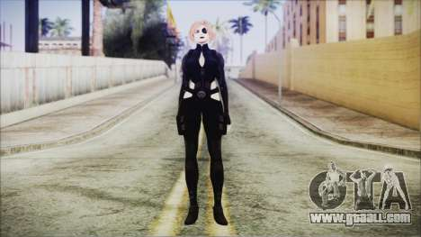 Blonde Domino from Deadpool for GTA San Andreas second screenshot