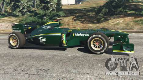 GTA 5 Lotus T127 left side view