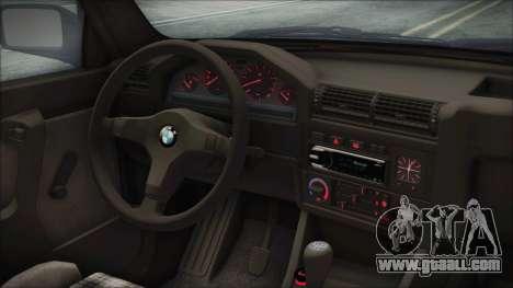 BMW 320i E21 1985 SA Plate for GTA San Andreas right view