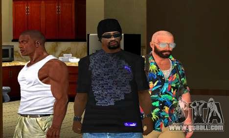 Mens Mega Pack for GTA San Andreas second screenshot