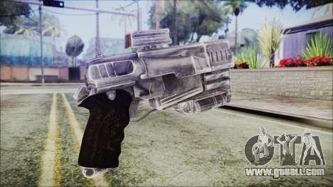 Fallout 4 Heavy 10mm Pistol for GTA San Andreas second screenshot