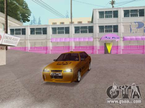 VAZ 21099 Tuning Russian Taxi for GTA San Andreas right view