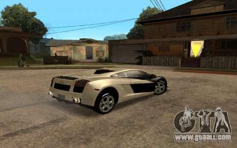Lamborghini Gallardo Tunable v2 for GTA San Andreas left view