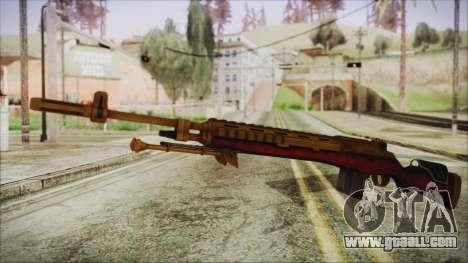 Xmas M14 for GTA San Andreas