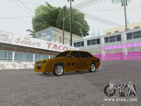 VAZ 21099 Tuning Russian Taxi for GTA San Andreas