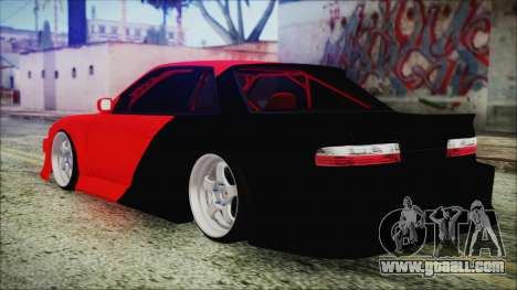 Nissan Silvia S13 Facelift S14kouki for GTA San Andreas left view
