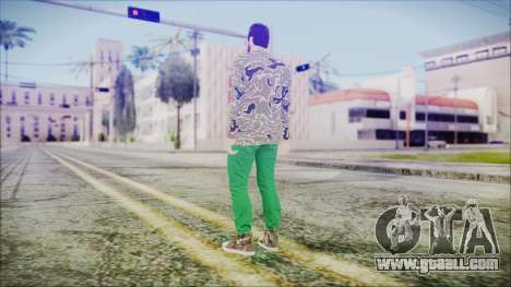 GTA Online Skin 28 for GTA San Andreas third screenshot