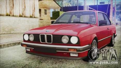BMW 320i E21 1985 SA Plate for GTA San Andreas