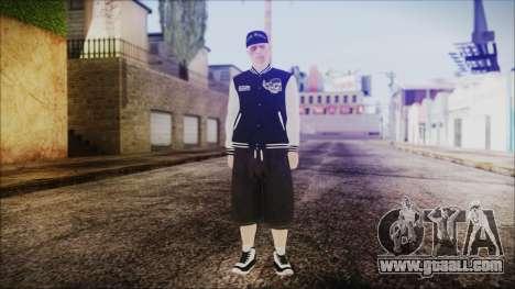 GTA Online Skin 50 for GTA San Andreas second screenshot