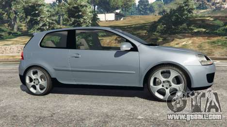 Volkswagen Golf Mk5 GTI 2006 for GTA 5