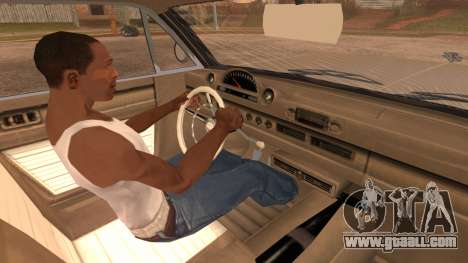 GTA 5 Declasse Clean Voodoo Hydra Version for GTA San Andreas right view