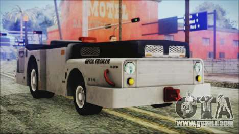 BF3 Push Car for GTA San Andreas right view