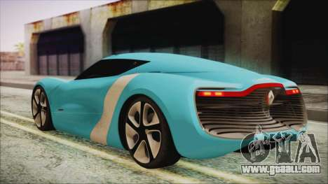 Renault Dezir Concept 2010 v1.0 for GTA San Andreas left view